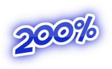 200% casino bonus triplaa talletuksen.