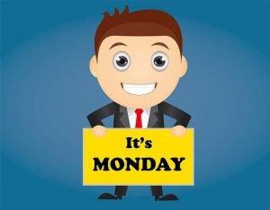 Maanantai - tältä se näyttää