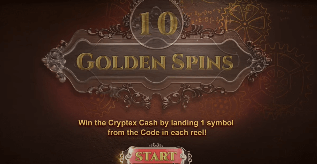 Golden Cryptex Slotti