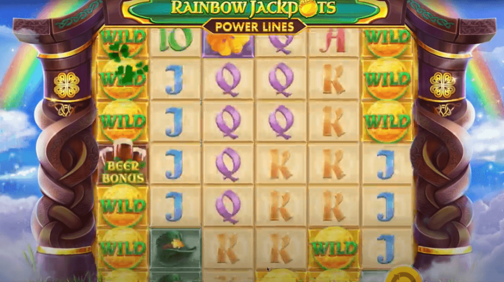 Rainbow Jackpots Powerlines Slot