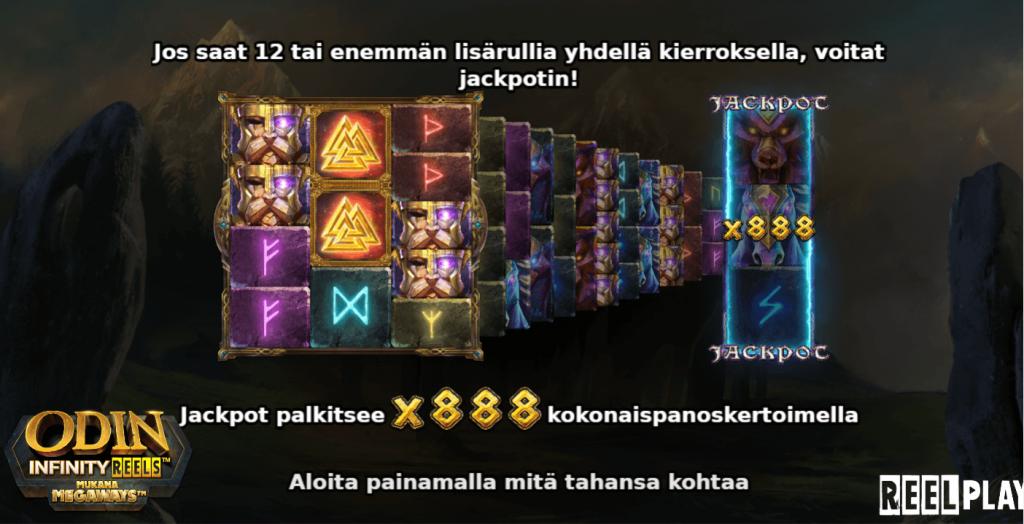 Odin Infinity Reels Voittomahdollisuudet Ovat Laajat