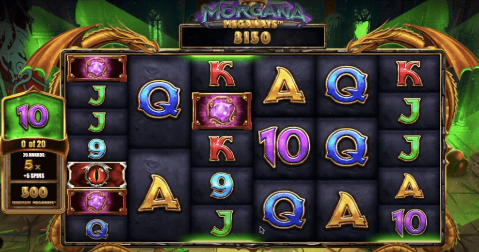 Morgana Megaways Free spins Feature