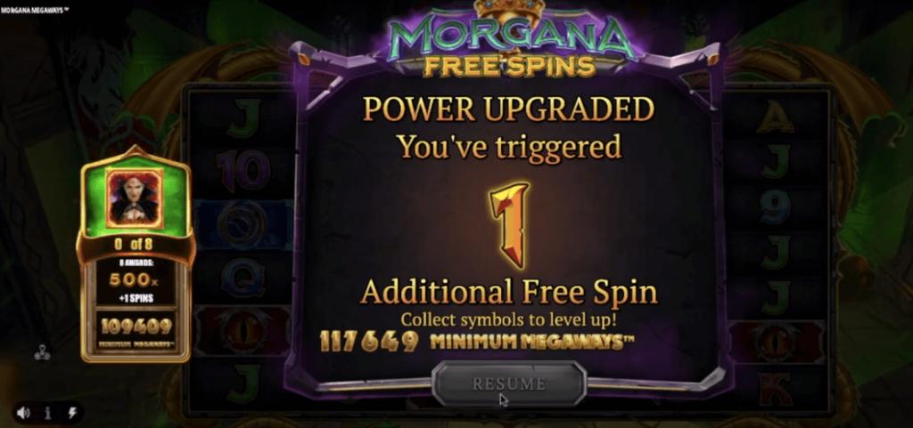 Morgana Megaways Extra Spin