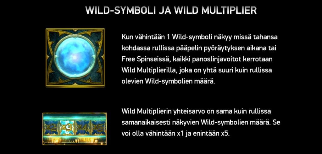 Dark King: Forbidden Riches Wild Symboli