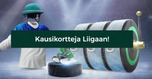 Mr Greenillä voi voittaa kausikortteja Liigaan